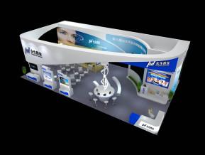 众生药业展览模型