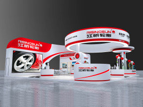 江昕轮胎展览模型