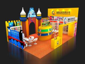 童趣出版展览模型