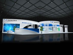 耐德能源展览模型