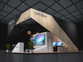 newline展台模型