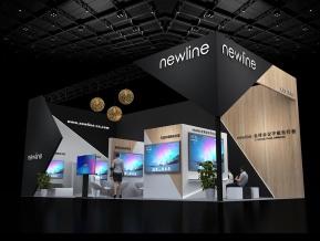 newline展览展示模型