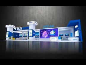 中国电信展览模型
