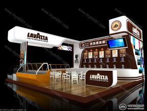 喜客咖啡展台