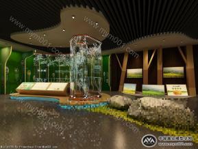 农业展厅3D模型
