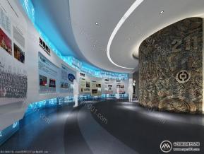 荣誉展厅模型