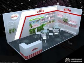 alilo展台3D模型
