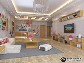 客厅设计模型图片
