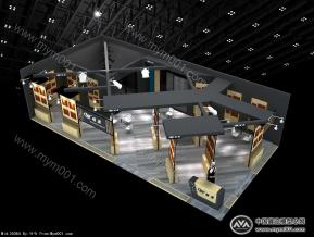 岐美展览展示模型免费下载