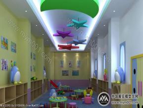 幼儿园室内空间