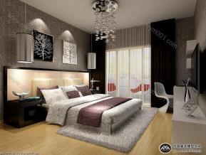 卧室3D设计模型