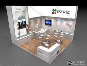 EZVIZ展台模型图片