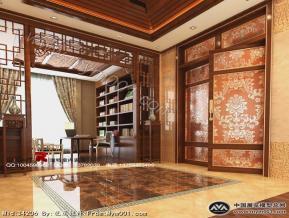 室内设计模型效果图