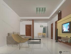 客厅3D模型免费下载