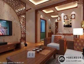 中式客餐厅