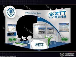 中天科技展览模型