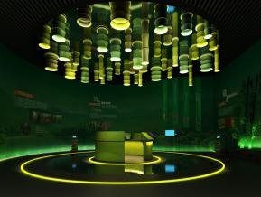 竹子的生长展厅